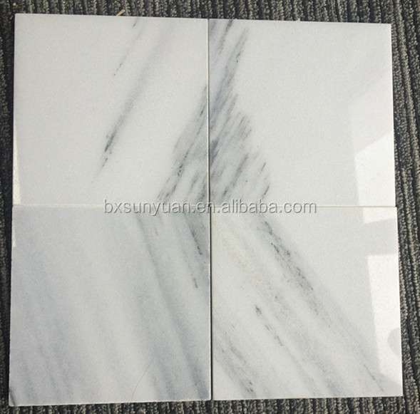 Italian Daina marble wall floor tile type white marble price