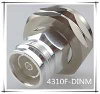 7/16 din adapter female straight connector with high quality