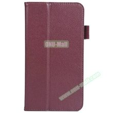 Factory Price Litchi Texture Leather Flip Cover For Acer Iconia Talk S A1-724