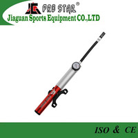 High Pressure Mini Bike Pump With Gauge Fit Schrader&Presta Valves(JG-1023)