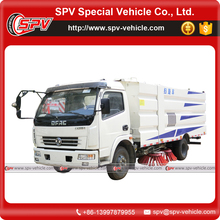 Construction Machinery Dongfeng Brand 4x2 Street Cleaning Vehicle