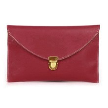 Colorful lenvelope clutch bag with chain for laies and hand bags for women