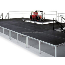 Heavy duty aluminum stage portable stage for show