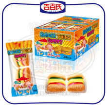 Sweet Burger Gummy Candy With Box Packing