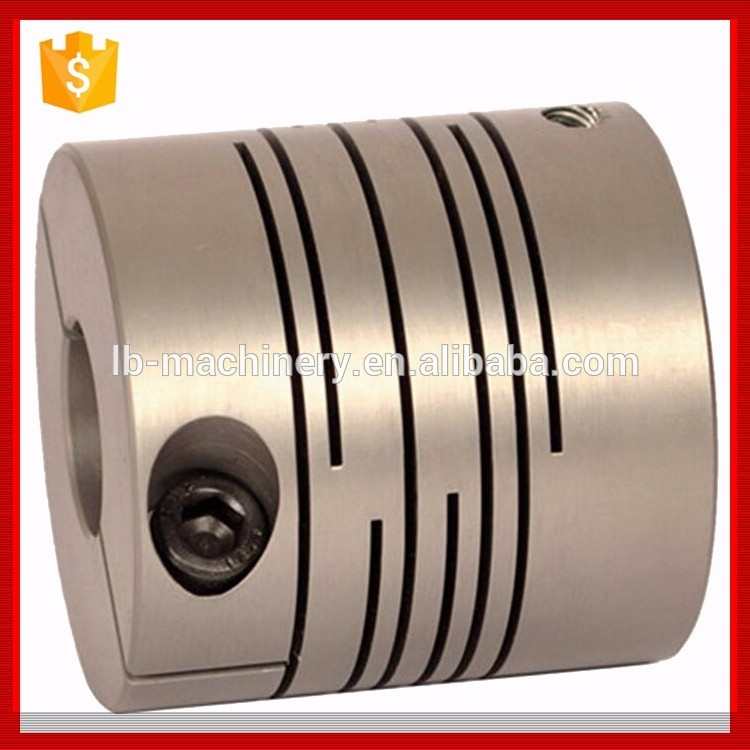 Factory anodized processing helical coupling used in step mators