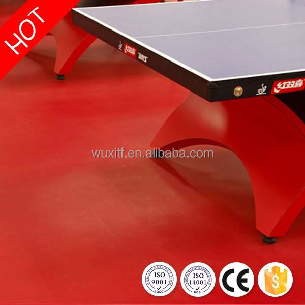 New design health removable table tennis court floor for indoor