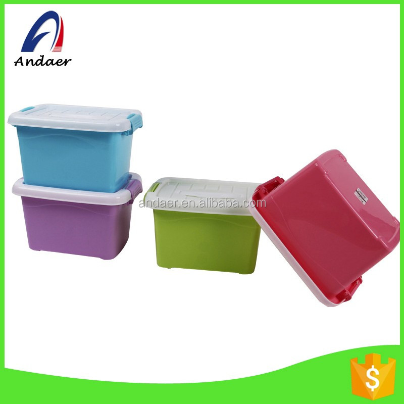 Household and travelling using,lightweight,can easy carry out PP plastic storage box