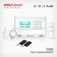 New Alarm GSM, Wireless Security SMS Alarm with Touch keypad