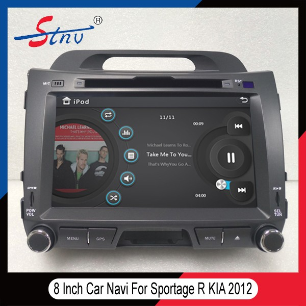 Wholesale Android 8 Inch Car DVD Player For Sportage R <strong>K</strong>.I.A With GPS
