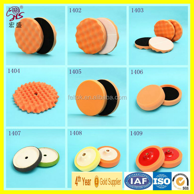magic sponge/ cleaning sponge pad/ Scouring Pads for glass car