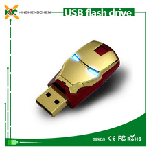 New product micro usb waterproof 2gb to 1tb iron man usb flash drive