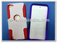 2 in 1 Mesh Case for ipod touch 5