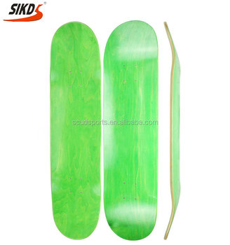 wholesale canadian maple skateboard deck dye color custom skate board deck maple layer color deck skateboard