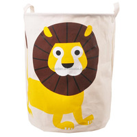 Animal bag for kids toy basket laundry hamper foldable