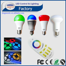 DC12-24V light & AC86-265 Bulb Multi- zone RGB+W Control system