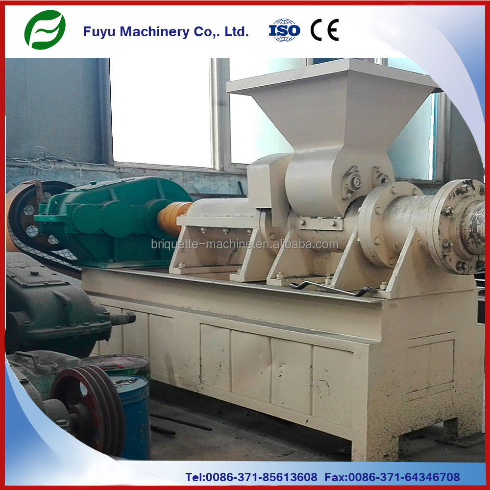 Hollow stick making machine type charcoal briquette extruder machine