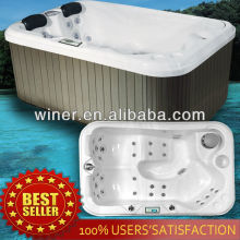 best selling hot tub cheap 2 person mini indoor hot tub