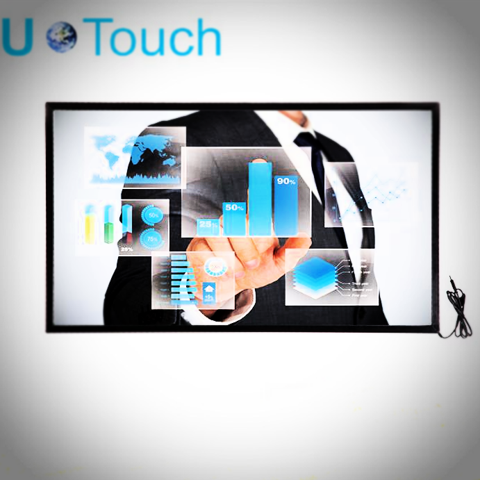 High speed 55 inch multi touch screen overlay for touch screen
