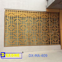 CNC metal decorative panel used as window guard