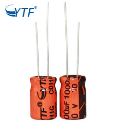 China wholesale excellent power supply 1000UF/10V aluminum electrolytic capacitors