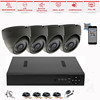 Hot selling!4 channel 1080P indoor security system waterproof ahd dvr cctv kit