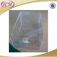 Cheap Wholesale acrylic shoe box display stand