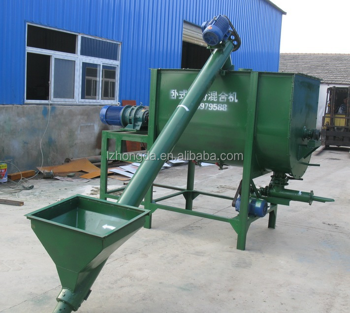 Ribbon mixer poultry feeding industrial machines