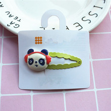 Wholesale Cute Baby Girls Snap Animals Fashion BB Hair Clips Design