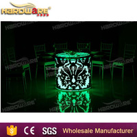 Party night club furniture lighting up table