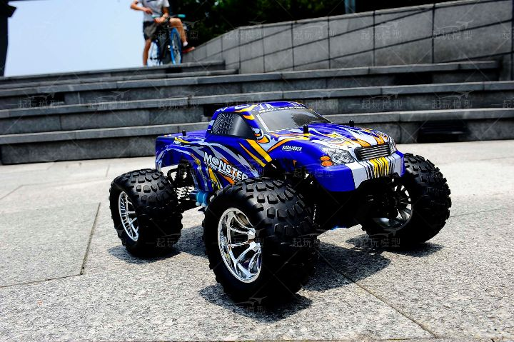manufacturer gas powered 1/10 nitro off road rc car in Shenzhen