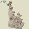 Wholesale classic garden marble baby angel statue for sale NTBS-036Y