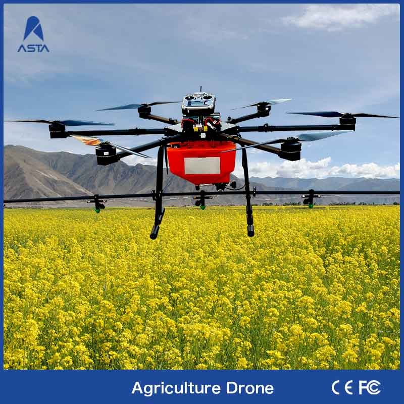 Intelligent Professional Five Nozzles Big Helicopter Agricultural Drone Sprayer Uav For Agriculture