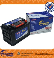 DIN75MF 12V75AH sealed MF batteries for cars automobile truck with best price