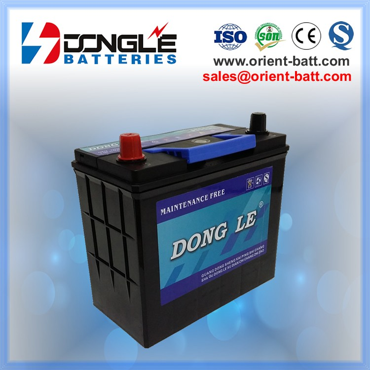 Longer Performance Life MF 40b19r 12 volt 35ah car battery