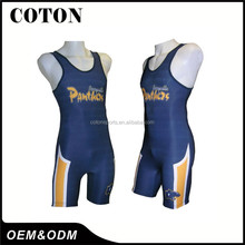 S---XXL or customized custom usa wrestling singlets