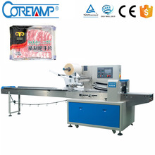 Nitrogen Horizontal Automatic Fresh Meat Wrapping Machines