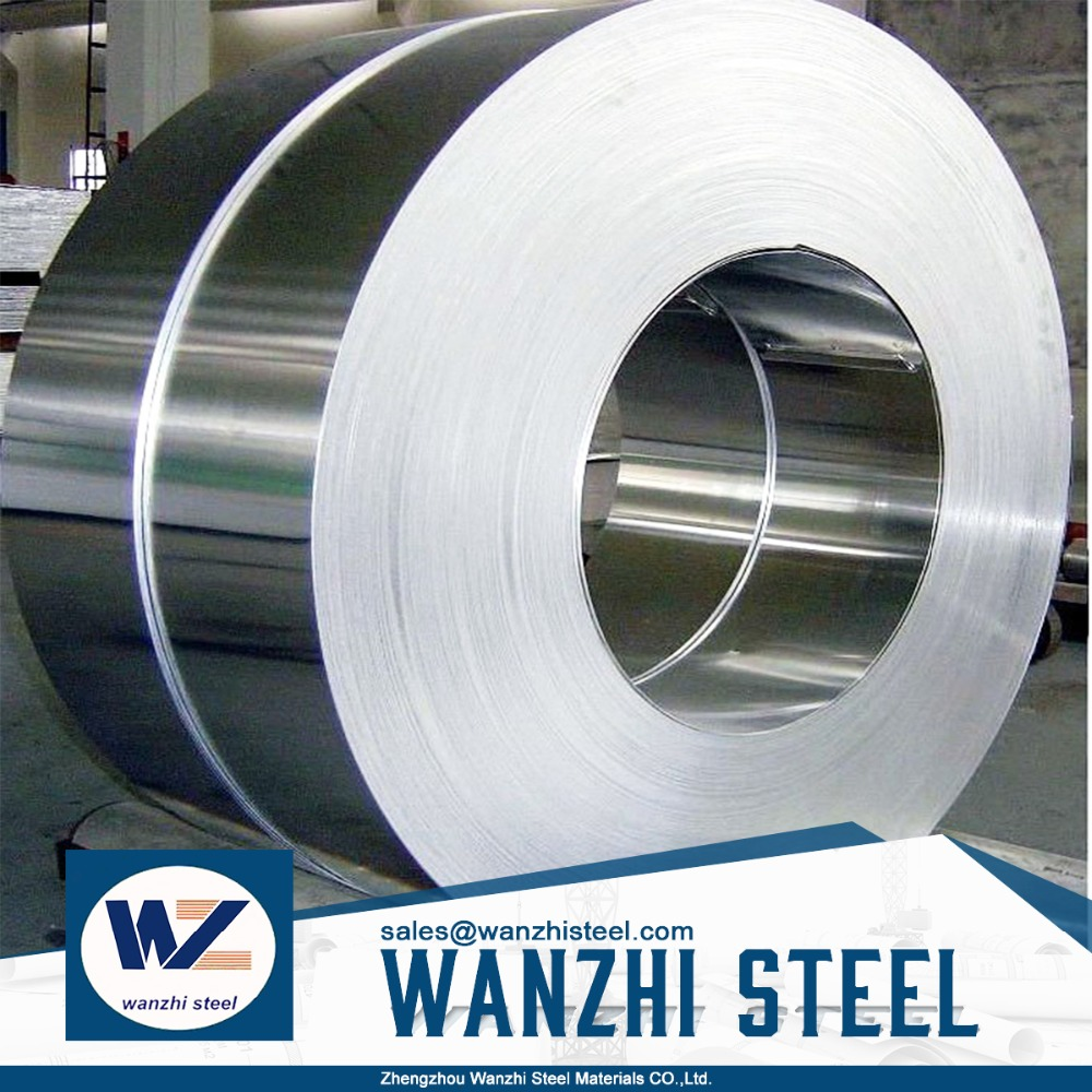 Low carbon material narrow galvanized steel coil and steel strip