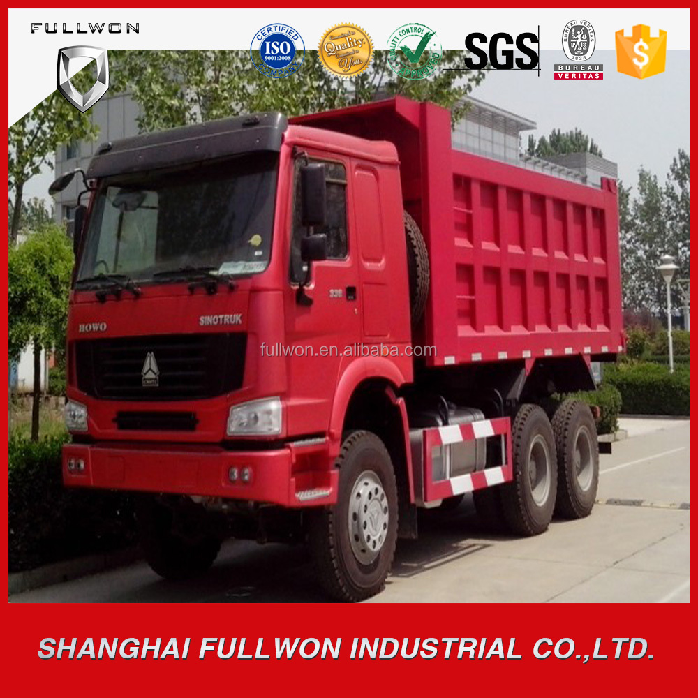 China HOWO Mining Cargo Dumper Lorry Tipper Truck For South Africa
