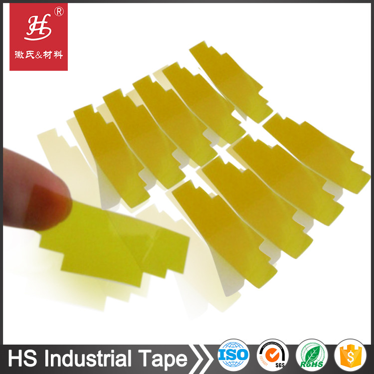 High temperature resistant silicone polyimide film die cut adhesive pi tape