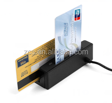 zcs100-ic pcsc compatible micro usb otg EMV chip card reader