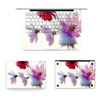 Custom New Designs Laptop Protector Waterproof Flower Stickers Skins for MacBook Pro 13 Full Decal