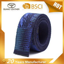 Factory Price High Quality 100% Woven Cotton Fabric Printing Canvas Belt