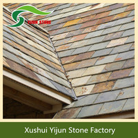 High Quality Natural Slate Tile Insulated Eco-friendly Stone Coated Roof Tile