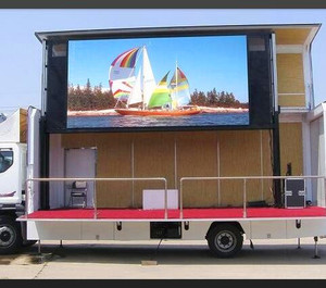 innovative elegant body P10 truck Mobile LED Billboard billboard advertising attractive many customers