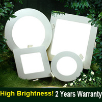 New style 6w 480lm Ceiling LED Flat chandelier green life led panel light lamp 120*12mm LED panel lamp for kitchen