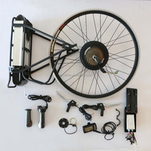 48V 1000W brushless gearless motor ebike conversion kits/electric bike battery included for electric bicycle kit