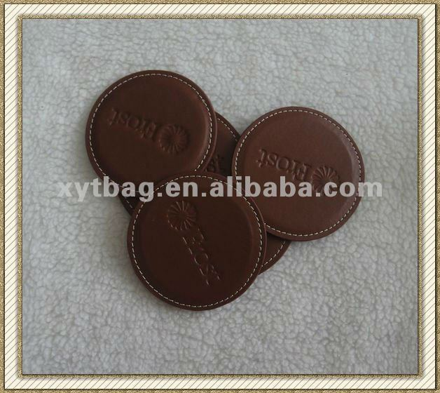 pvc cup pad with round shape