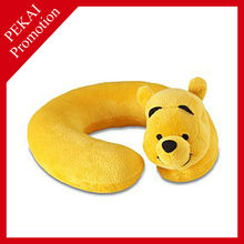 Plush car foam neck pillow, air pillow