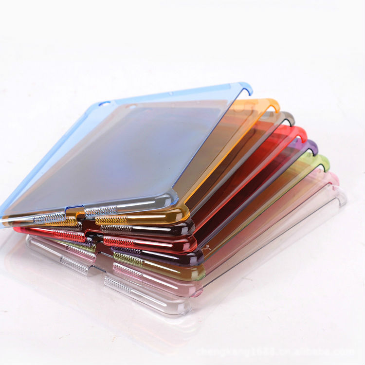 Clear PC Jelly Hard Skin Case Back Cover For New Apple iPad Mini 2 Retina