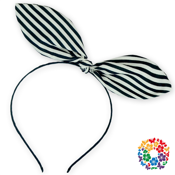 Newest Adorable Baby Girls Thin Hair Clasp Party Headdress For Sale With Stripe Bow Wholesale Kids Beautiful Hair Accessories